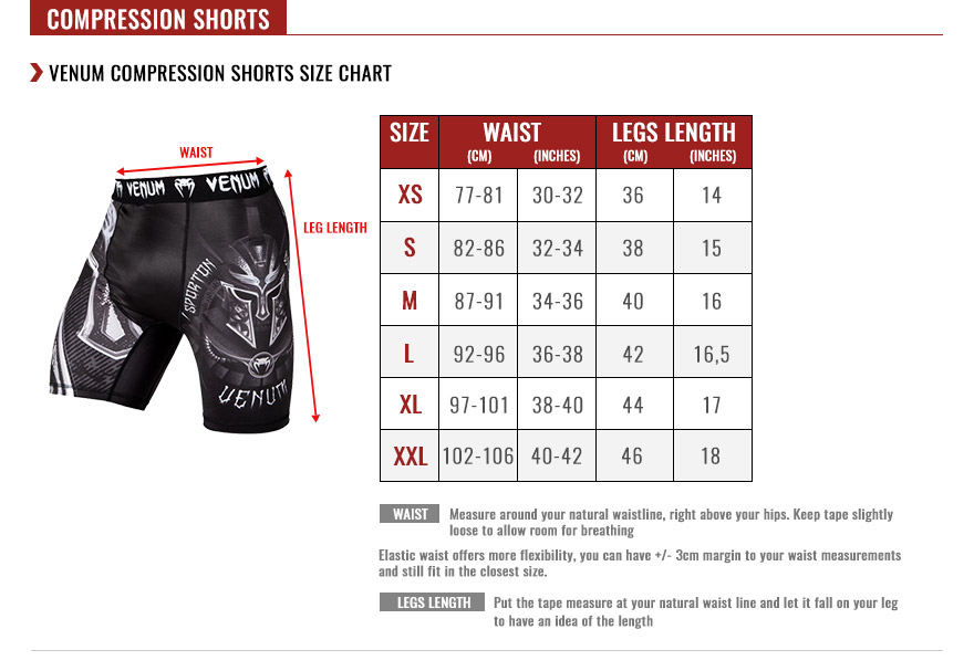 Venum Men's Compression Shorts