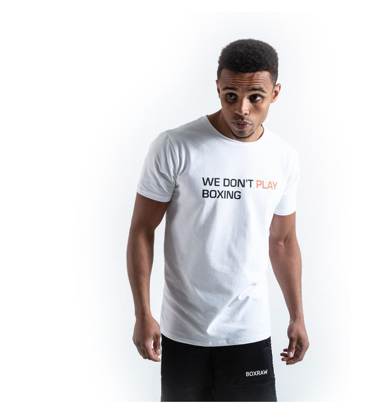 You Can T Play Boxing Shirt: Mens T-shirt Boxraw We Don't Play Boxing