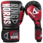 RINGHORNS CHARGER CAMO BOXING GLOVES - RED