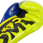 Venum Shield Pro Boxing Gloves Loma Edition With Laces - Blue/yellow, image 3