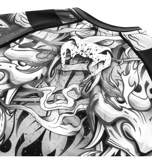 ΜΑΚΡΥΜΑΝΙΚΟ RASHGUARD VENUM DEVIL - BLACK/WHITE
