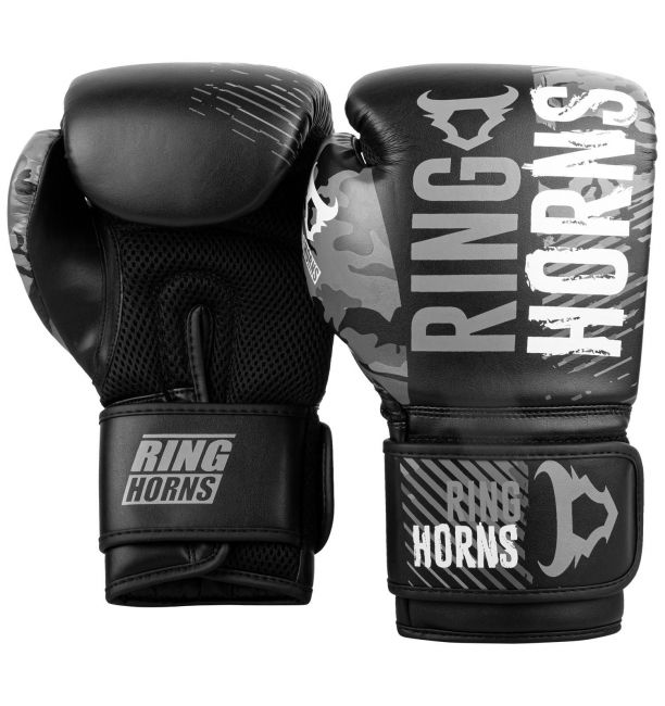 RINGHORNS CHARGER CAMO BOXING GLOVES - GREY, image 1