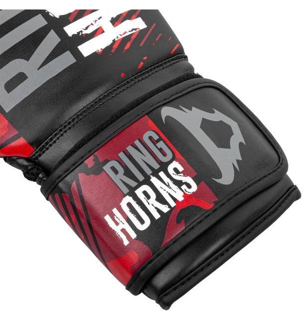 RINGHORNS CHARGER CAMO BOXING GLOVES - RED, image 2