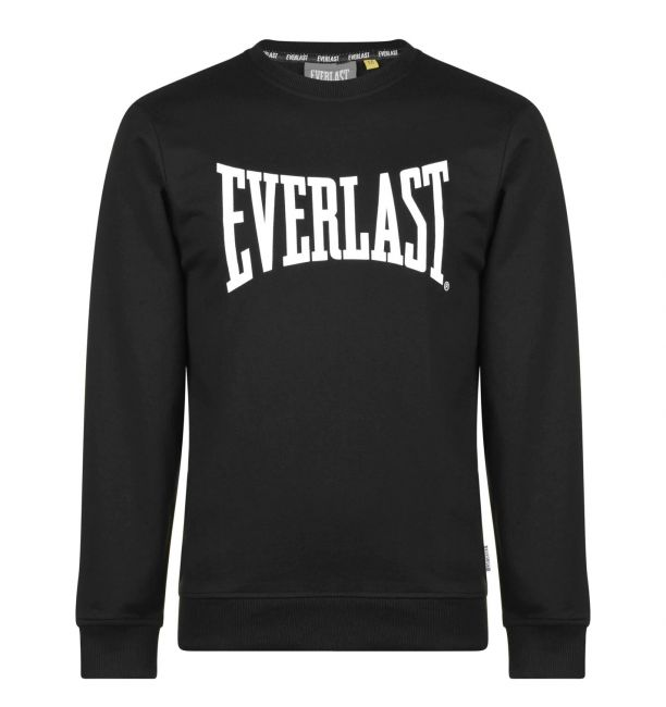 ΑΝΔΡΙΚΟ ΦΟΥΤΕΡ EVERLAST LENGTH SWEATSHIRT - BLACK