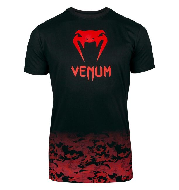 VENUM CLASSIC T-SHIRT - BLACK/RED CAMO
