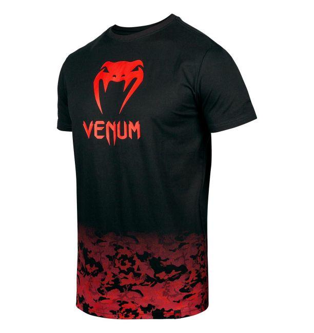 VENUM CLASSIC T-SHIRT - BLACK/RED CAMO, image 1