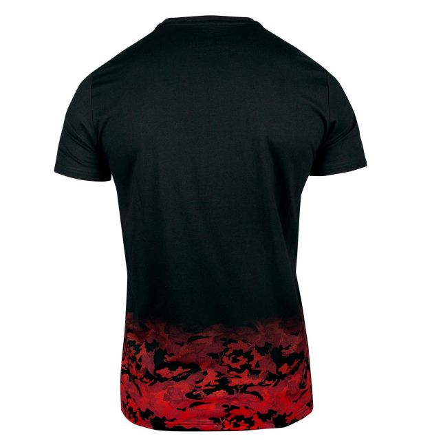 VENUM CLASSIC T-SHIRT - BLACK/RED CAMO, image 2
