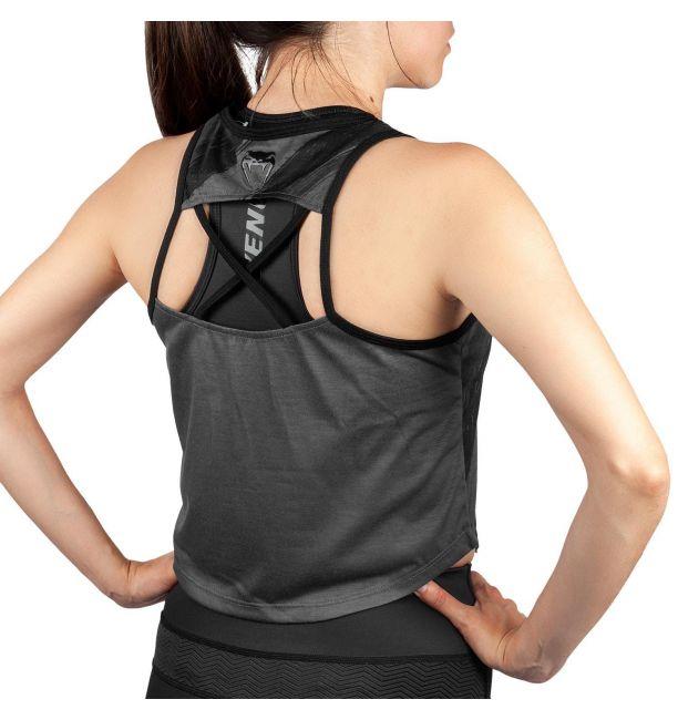 Venum Power 2.0 Ladies Open Back Gym Vest Womens Tank Top Martial Fitness MMA