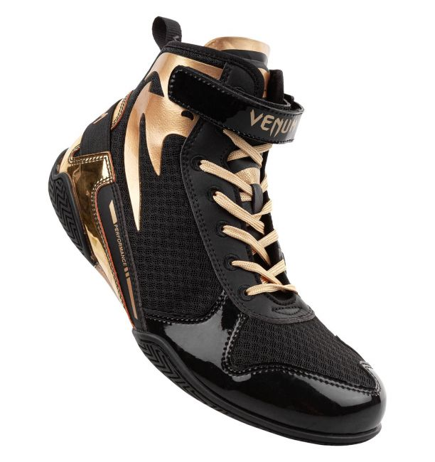 Venum Giant Low Boxing Shoes Black/Gold