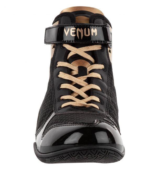 Venum Giant Low Boxing Shoes Black/Gold, image 2