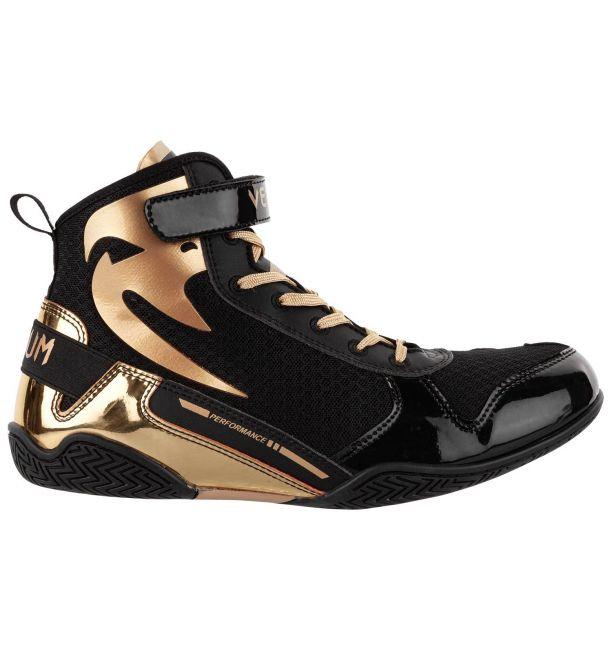 Venum Giant Low Boxing Shoes Black/Gold, image 3
