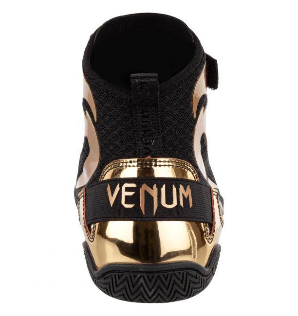 Venum Giant Low Boxing Shoes Black/Gold, image 4