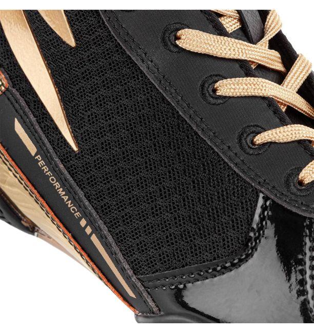 Venum Giant Low Boxing Shoes Black/Gold, image 5
