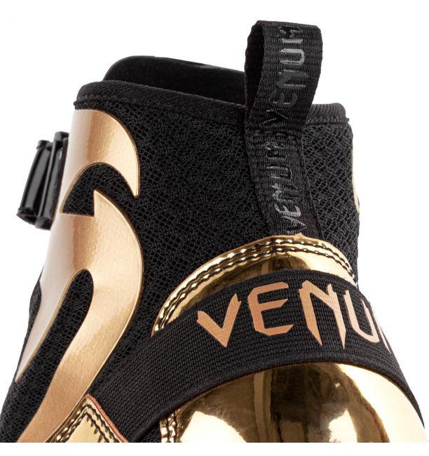 Venum Giant Low Boxing Shoes Black/Gold, image 8