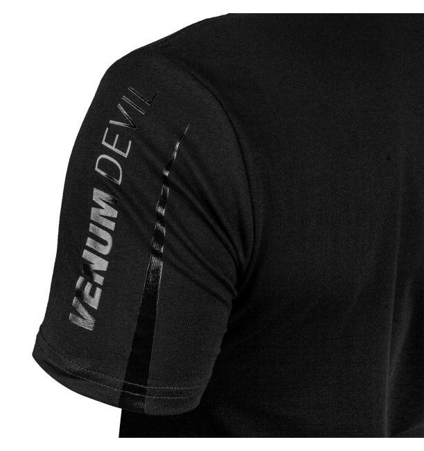 Venum Devil T-shirt Black/Black, image 4