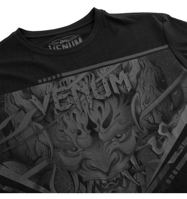 Venum Devil T-shirt Black/Black, image 6