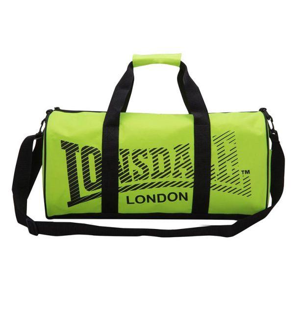 LONSDALE LONDON BARREL BAG ΑΘΛΗΤΙΚΗ ΤΣΑΝΤΑ - FLUO/BLACK