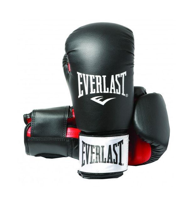 Everlast Rodney Black 1803-Γάντια πυγμαχίας (Προπόνησης) - Black