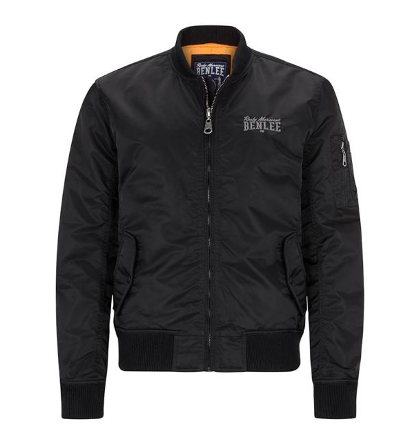 ΑΝΔΡΙΚΟ BOMBER JACKET BENLEE BRISBANE - BLACK